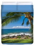 Tropical Beach Duvet Cover