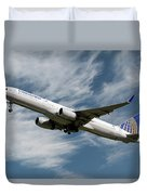 United Airlines Boeing 757-224 Duvet Cover