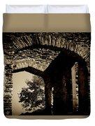 1833 Ruins Duvet Cover