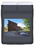 1863 H. S. Gilbert Brewery - Virginia City Ghost Town Duvet Cover