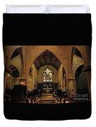 1865 - St. Jude's Church  - Interior Duvet Cover