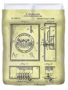 1895 Police Call Box Duvet Cover