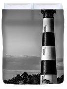 Bodie Island Lighthouse Obx Cape Hatteras North Carolina Duvet Cover