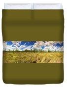 Florida Everglades Duvet Cover