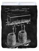 1900 Beer Cooler Duvet Cover