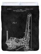 1902 Oil Well Patent Duvet Cover