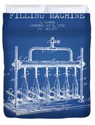 1903 Bottle Filling Machine Patent - Blueprint Duvet Cover