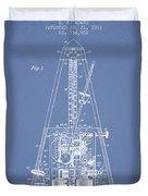 1903 Electric Metronome Patent - Light Blue Duvet Cover