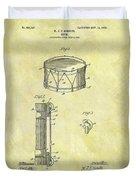1905 Drum Patent Duvet Cover