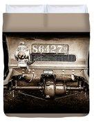 1906 White Model F Roi Des Belges Touring Rear Lamp -0058s Duvet Cover