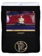 1907 Panhard Et Levassor Hood Ornament 2 Duvet Cover