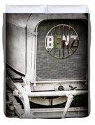 1908 Benz Prince Heinrich Two Seat Race Car Grille Emblem -1696ac Duvet Cover
