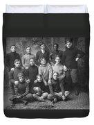 1908 Football Team Duvet Cover