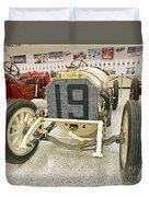 1908 Mercedes Race Car Duvet Cover