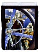 1910 Pope Hartford T Steering Wheel Duvet Cover