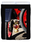 1911 Ford Model T Torpedo Lamp Duvet Cover