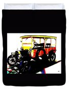 1912 Ford Model T Taxi Duvet Cover