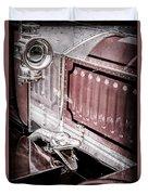 1912 Rolls-royce Silver Ghost Rothchild Et Fils Style Limousine Snake Horn -0711ac Duvet Cover