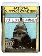 1913 Votes For Women Duvet Cover