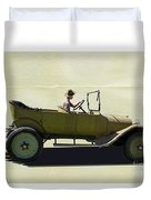 1918 Dodge Ww 1 Army Touring Vehicle Duvet Cover