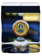 1919 Ford Model T Hood Ornament Original Duvet Cover