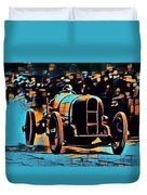 1920's Racing Car Duvet Cover