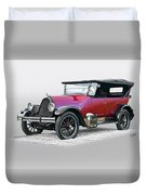 1922 Franklin Open Touring Sedan Duvet Cover