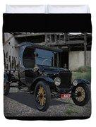1923 Ford Model T Truck Duvet Cover
