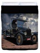 1923 Model T Ford Truck Duvet Cover