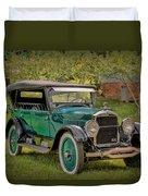 1923 Studebaker Big Six Touring Car Duvet Cover