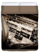 1924 Hispano-suiza H6b Dual  Cowl Sport Phaeton Engine Emblem -0258s Duvet Cover