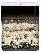 1926 Yankees Team Photo Duvet Cover