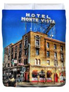 1927 Hotel Monte Vista - Flagstaff  Duvet Cover