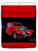 1928 Dodge Street Rod Duvet Cover