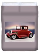 1928 Ford 'hot Rod A' Coupe Duvet Cover