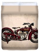 1928 Indian Motorcycle Duvet Cover