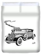 1929 Cadillac  Duvet Cover
