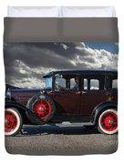 Classic 4 Door Ford Duvet Cover