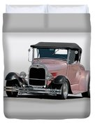 1929 Ford 'champagne Blush' Roadster Duvet Cover