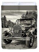 1929 Ford Model A Pickup Duvet Cover
