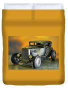1930-31 Ford 'lakester' Coupe II Duvet Cover