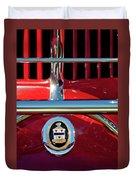 1930 Cord L29 Phaeton Emblem Duvet Cover