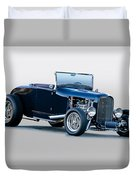 1930 Ford 'blu Mood' Roadster Duvet Cover