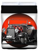 1930 Ford 'red Ball Express' II Duvet Cover