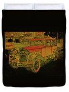 1930 Hudson Duvet Cover