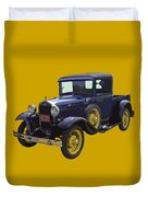 1930 - Model A Ford - Pickup Truck Duvet Cover