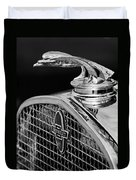 1931 Chevrolet Hood Ornament 4 Duvet Cover