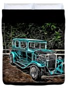 1931 Chevy Hot Rod  Duvet Cover
