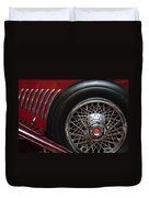 1931 Duesenberg Model J Spare Tire Duvet Cover