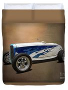 1931 Ford Convertible Hot Rod Duvet Cover